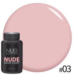 BAZA MASKUJĄCA NUB NUDE RUBBER BASE 03 30ml.