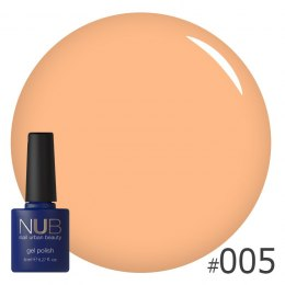 Lakier hybrydowy NUB 005 ORANGE FOR EVER