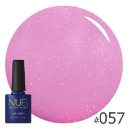 Lakier hybrydowy NUB 057 SHIMMERING PINK TAUPE