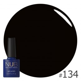 Lakier hybrydowy NUB 134 TINY BLACK DRESS