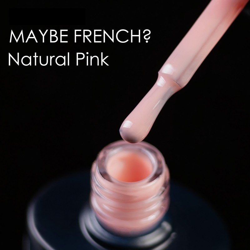 Lakier hybrydowy NUB MAYBE FRENCH NATURAL PINK